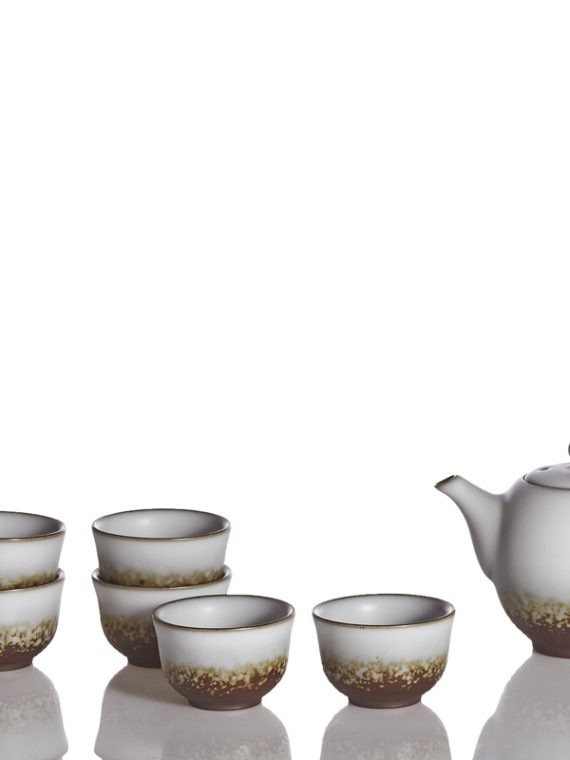 Bliss-Tea-Set-Oil-spot-White-Glaze