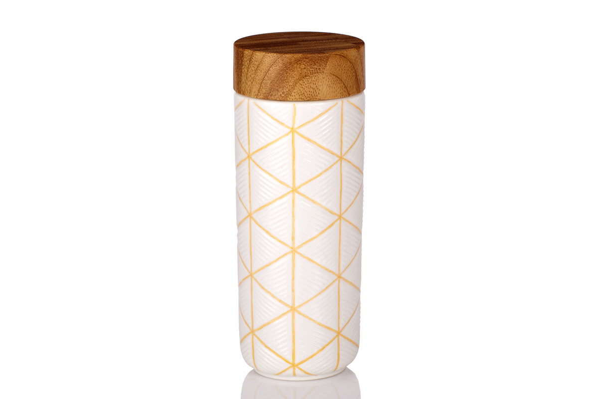 The-Geometric-Tumbler-Hand-Painted-Yellow-Line-with-White-Glaze